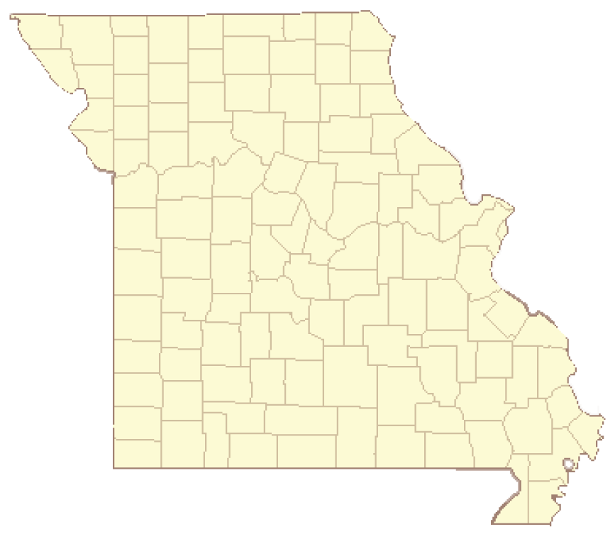 Missouri map